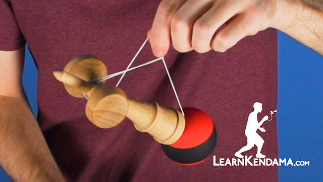 Funhouse and Root Canal Kendama Trick
