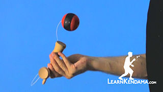 Base Cup Kendama Trick