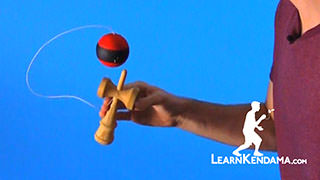 Bird Over the Valley Kendama Trick