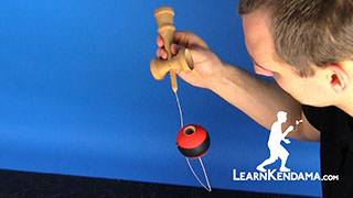 Down Spike Kendama Trick