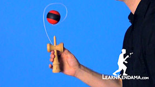 Earth Turn Kendama Trick