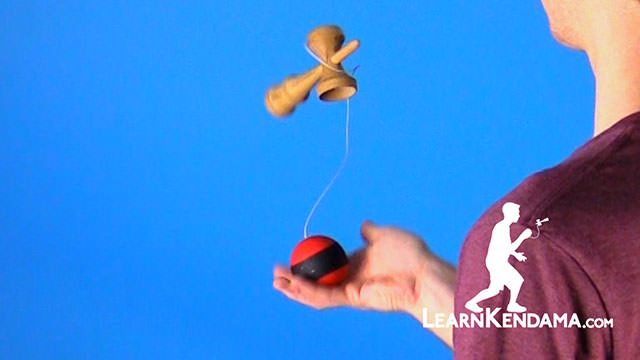 Simple kendama trick (big cup spike) - video dailymotion