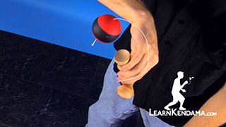 Penguin Catch Kendama Trick