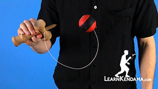 Pull Side Spike Kendama Trick