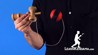 Side Spike Kendama Trick