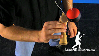 Small Cup Kendama Trick