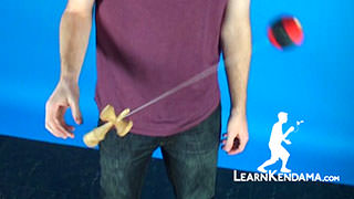 Space Walk Kendama Trick