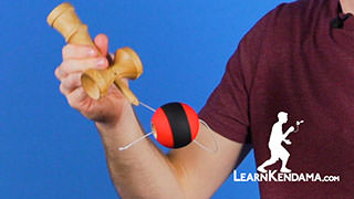 Swing Down Spike Kendama Trick