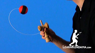 Swing Spike Kendama Trick