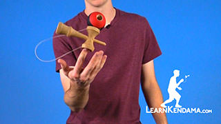 Turntable Kendama Trick