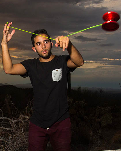 International Yoyo Champion Paul kerbal