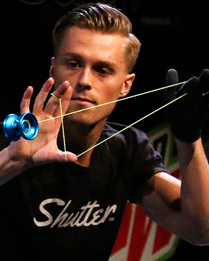 World Yoyo Champion - Gentry Stien