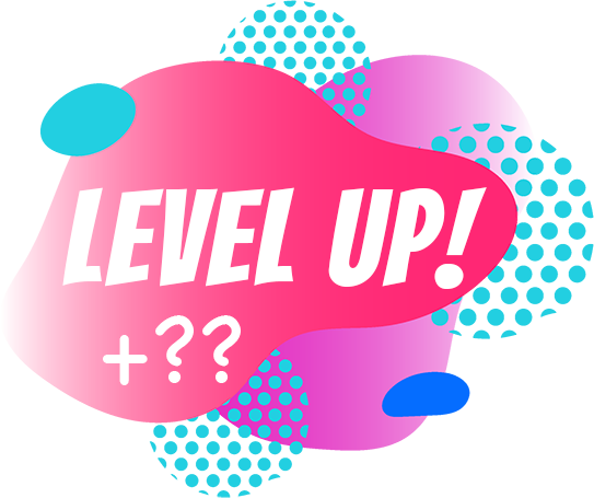 We are working hard to create a unique integration between our Reward Program and Level Up! so that you can ear more points just for improving your skill.