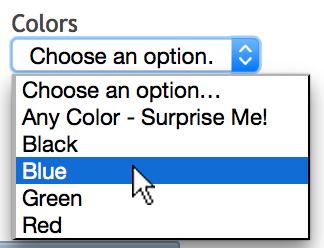 pick a yoyo color