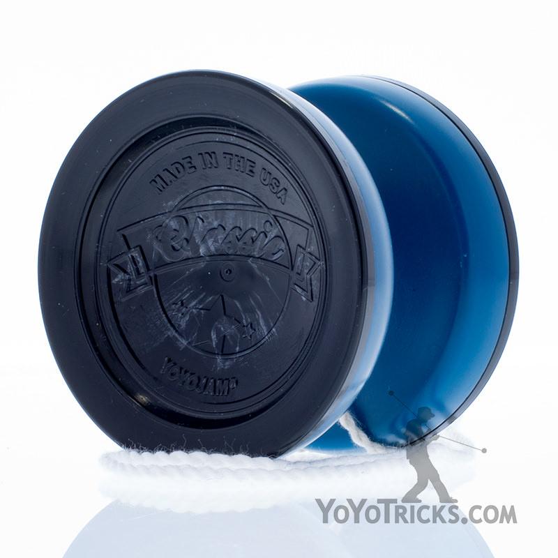 black blue classic pro yoyo yoyojam