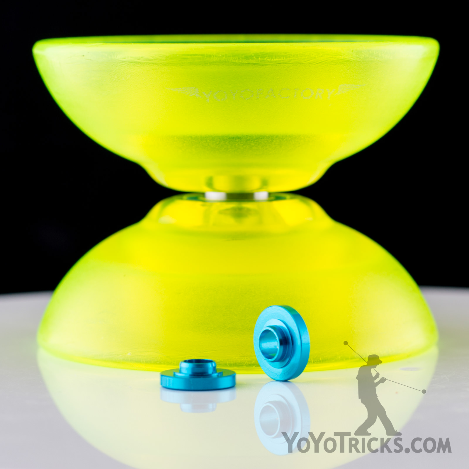 YoYoFactory Blue Flight Yoyo Spacers