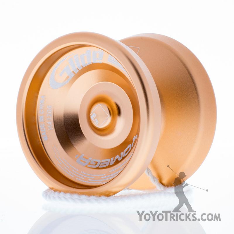 gold glide yoyo yomega