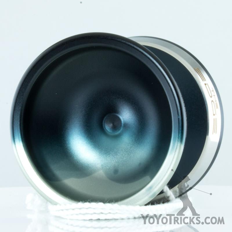 YoYoFactory Edge Yoyo Silver Black Fade