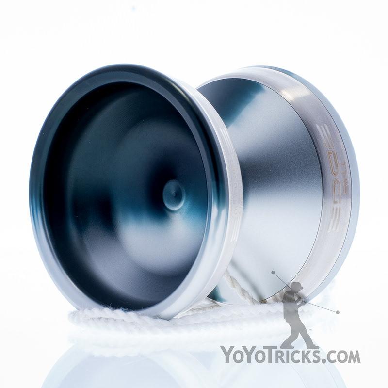 black silver fade edge yoyo yoyofactory