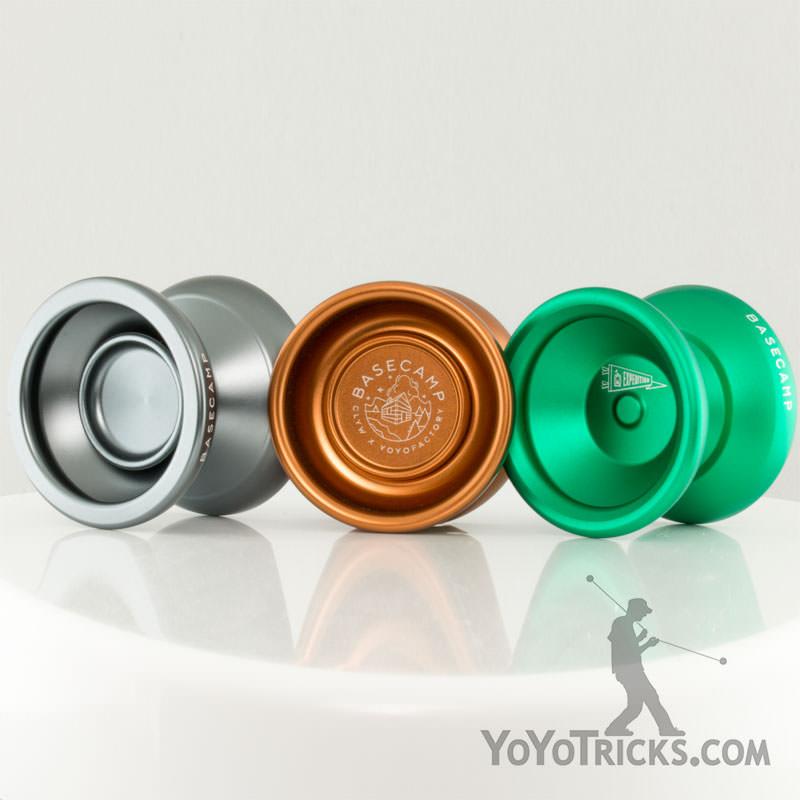 Copper Silver YoYoFactory x CLYW Basecamp Yo-Yo Moonshine 2.0 YoYo