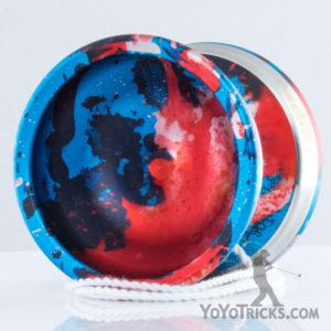 edge yoyo acid wash red blue fade