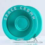 Space Crown Ultra Green YoyoFactory yoyo