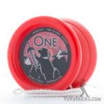 YoYoTricks.com-ONE-Yoyo-Red