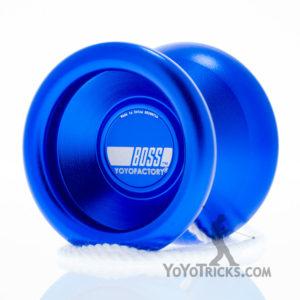 blue boss yoyo yoyofactory