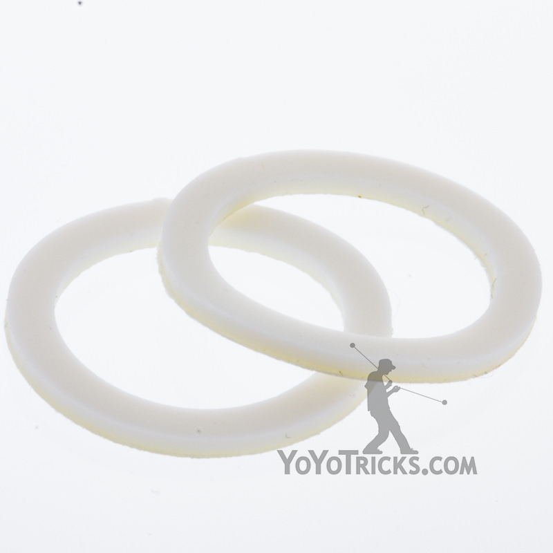 yoyofactory white 19mm response pads