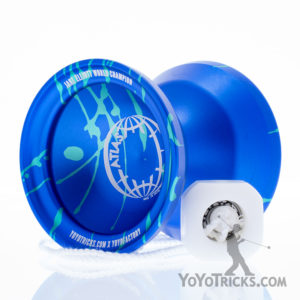 blue aqua atlas yoyo yoyotricks.com