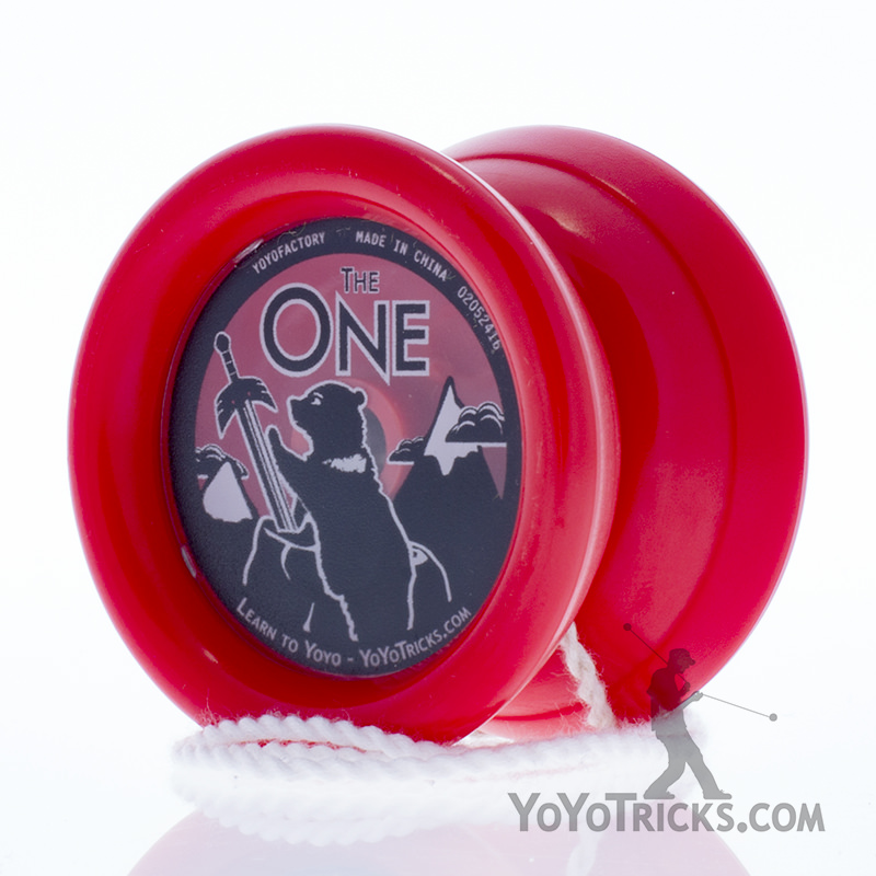 red one yoyo yoyotricks.com