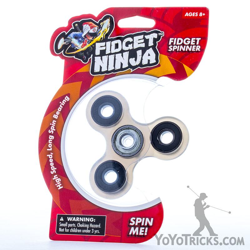 ninja fidget fidget spinner translucent black