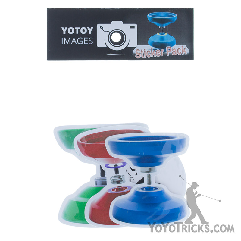YoToy images sticker pack assorted