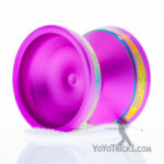 pink tempered rims edge yoyo yoyofactory