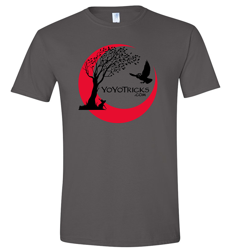 YoYoTricks.com tree fantasy shirt