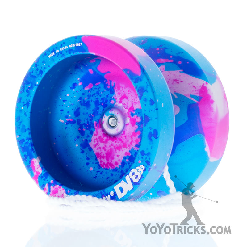 yoyofactory yoyo dv888 galaxy splash