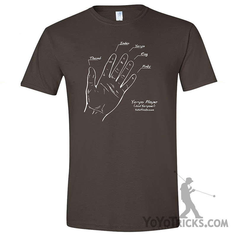 yoyotricks.com shirt yoyo finger