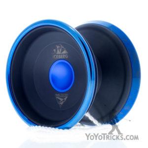 black blue rim iceberg yoyo iyoyo