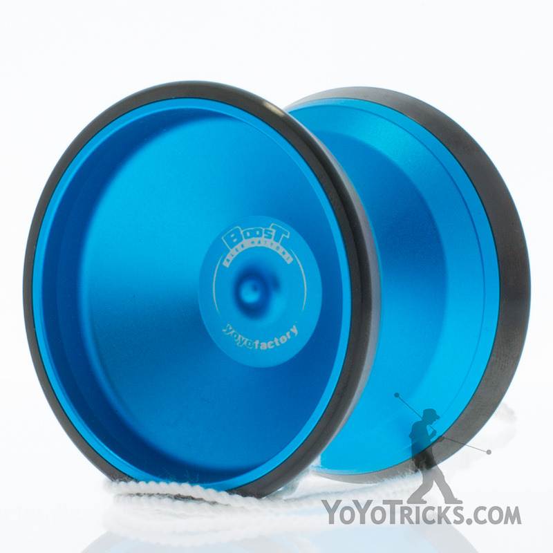 boost yoyo yoyofactory blue black rims