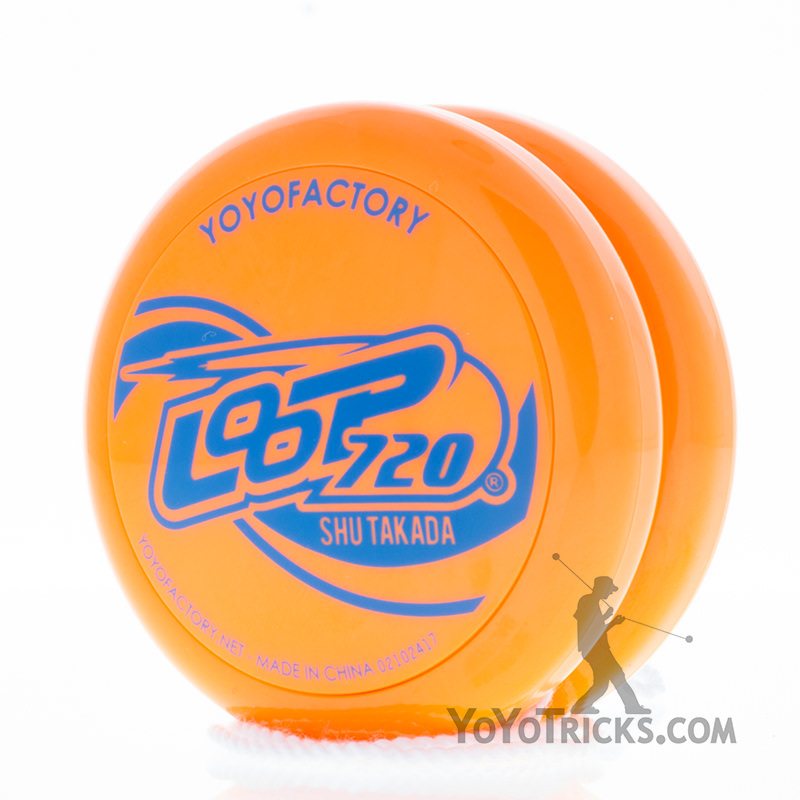 loop 720 yoyo orange yoyofactory