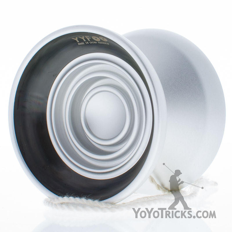 turntable 2 yoyo yoyofactory silver black ring