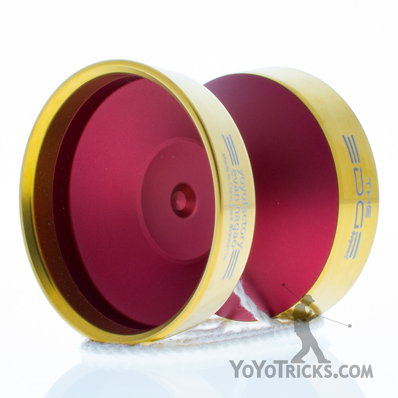 red with gold ring edge beyond yoyo yoyofactory