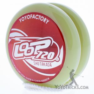 loop 720 yoyo glow red cap yoyofactory