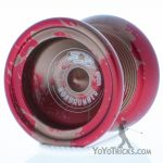 red gold splash duncan roadrunner yoyo