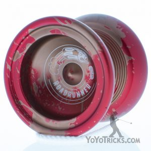 red gold splash duncan roadrunner yoyo