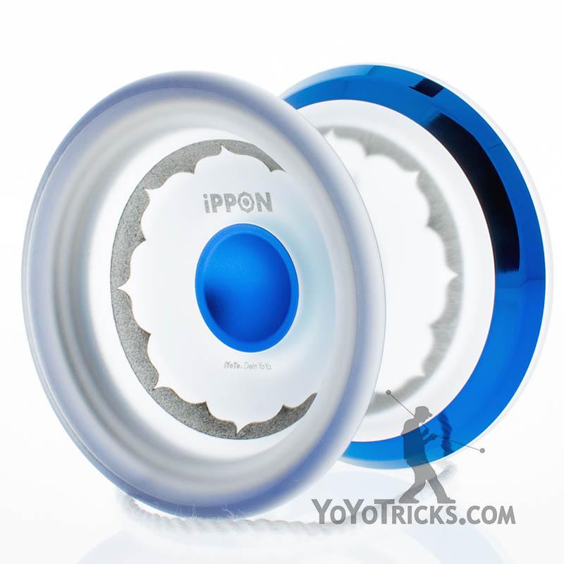 clear blue ring ippon yoyo iyoyo