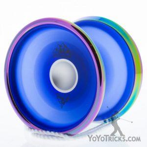 translucent blue rainbow rims iceberg iyoyo yoyo