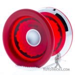 red silver ring ippon yoyo iyoyo
