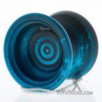 black blue swirl topyo selene yoyo