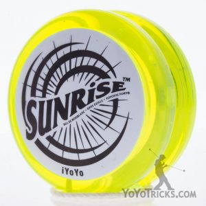 sunrise yoyo by iyoyo yellow white cap